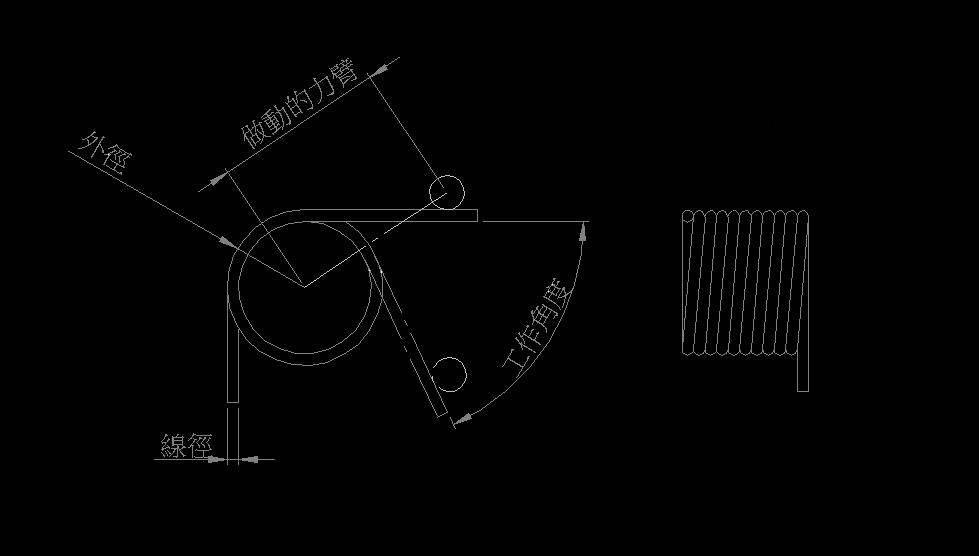 扭簧扭力計算公式 1