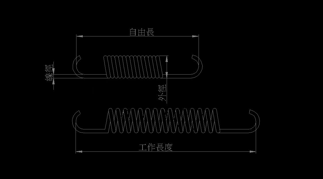 拉簧公式計算 1