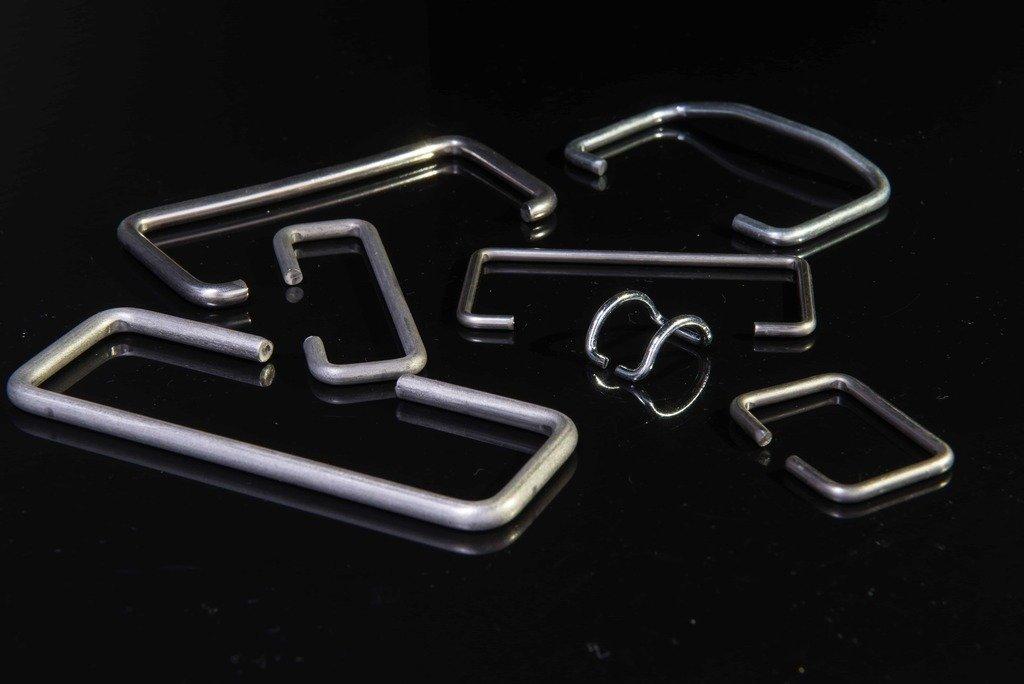 扣具彈簧、不鏽鋼折彎、白鐵折彎、鐵線折彎、鐵線加工 2